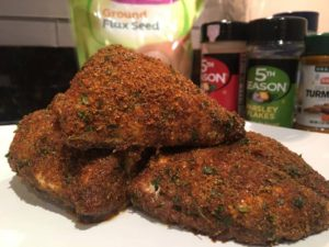 flax fried chicken picture